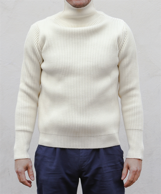 Andersen & Andersen Sailor Turtleneck Off White 1