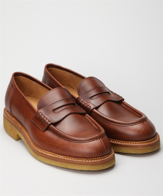 Fiddler Snapper Chestnut Leather 1