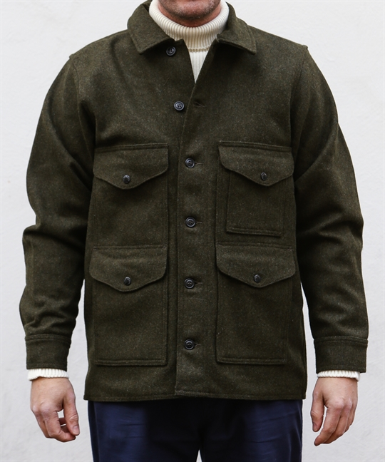 Filson Mackinaw Wool Cruiser Forest Green 1