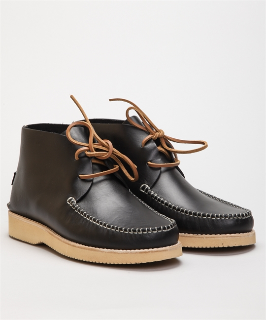 Yogi Footwear Lucas Black Leather
