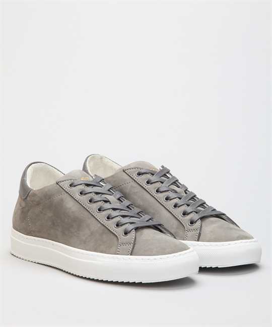 Sandays Wingfield Dust Grey Suede