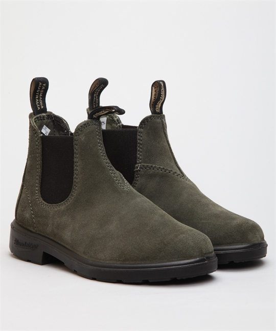 Blundsone 1642 Blunnie Forest Green Suede Kids