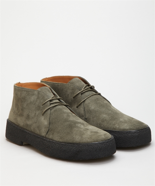 Playboy Original Chukka Olive Green Suede