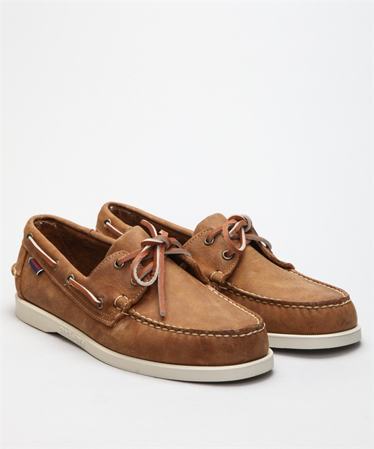 Sebago Docksides Portland Brown Tan