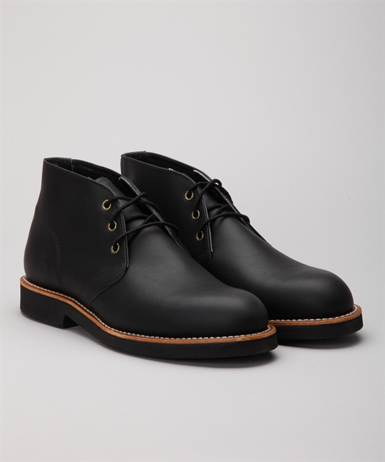 Red Wing Shoes 9216 Foreman Chukka Black Harness