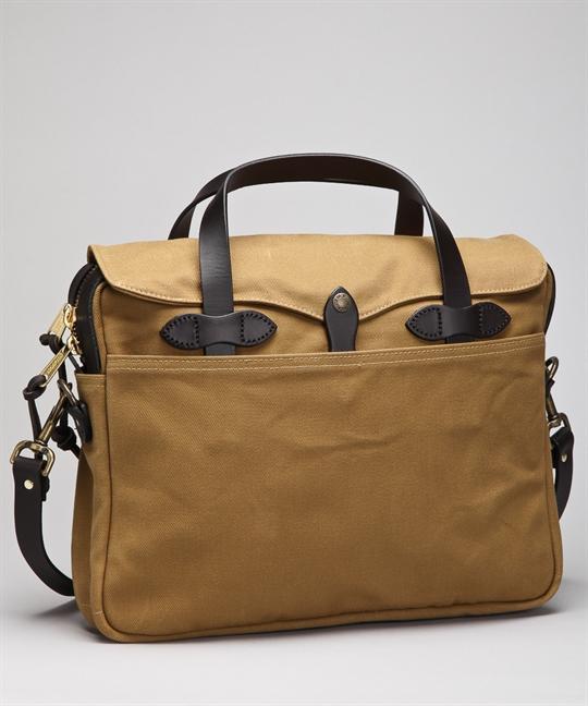 Filson väskor malmö : Filson original briefcase tan v?skor