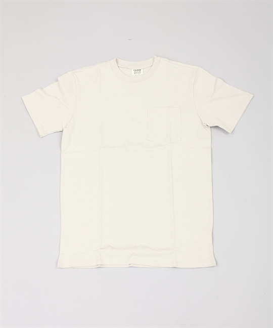 Outfitter Solid Pocket T-Shirt Pebble Grey