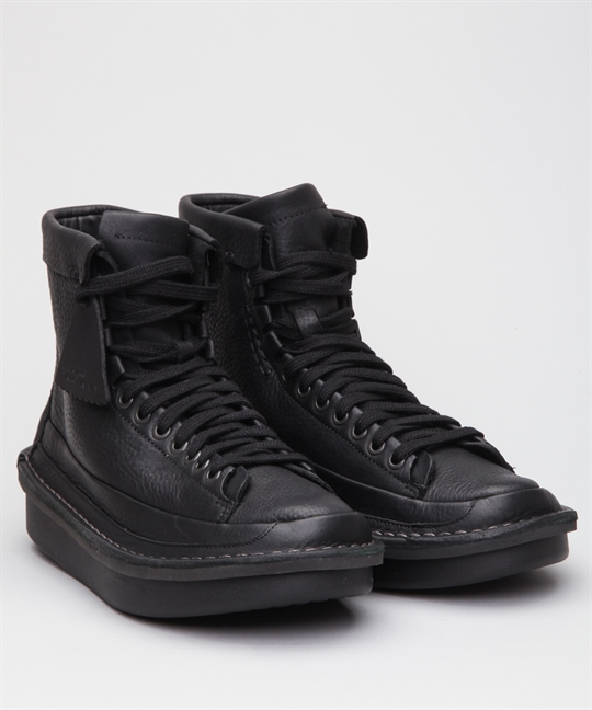 Clarks Originals Oswyn Hi Black Leather