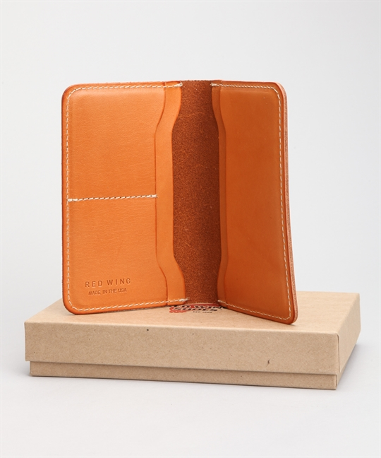 Red Wing Shoes Passport Wallet Veg Tan 95028
