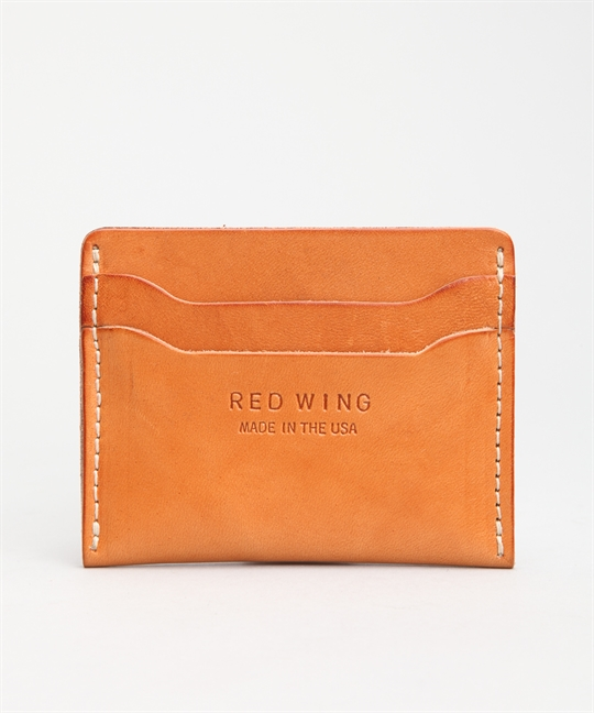 Red Wing Shoes Card Holder Veg Tan 95027