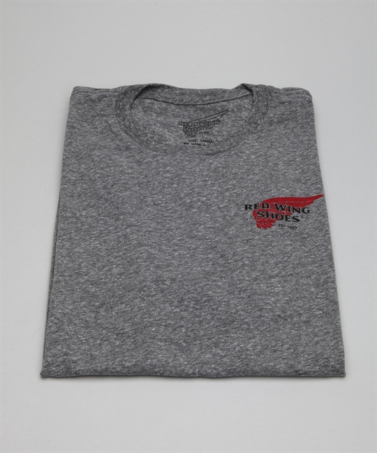 Red Wing Shoes T-Shirt 97404-Grey