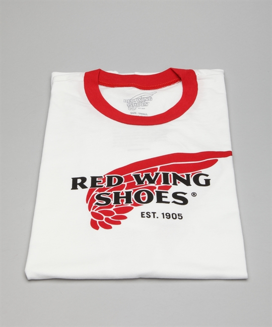 Red Wing Shoes T-Shirt 97406-White/Red