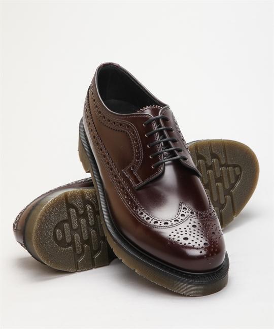Loake 624RT Burgundy Polished Leather skor – Skor online Lester Skor Online