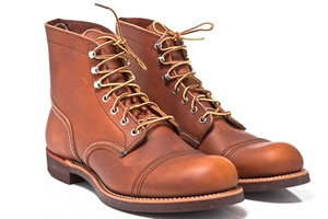 "Red Wing Shoes 6"" Iron Ranger 8112-Oro-iginal"