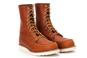 "red wing shoes classic work 8"" 877 oro-legacy"