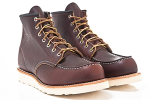 "Red Wing Shoes 6"" Classic Work Moc Toe 8138-Brown"