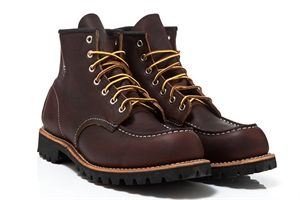 Red Wing Shoes Moc Lug Briar Oil Slick 8146