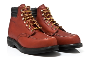Red Wing Shoes Moc Toe Oro-Russet 8804 SuperSoles