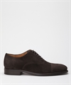 Fiddler Zeta Oxford Brown Suede 2