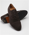 Fiddler Zeta Oxford Brown Suede 4