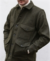 Filson Mackinaw Wool Cruiser Forest Green 4