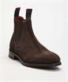 Loake Chatterly Dark Brown Suede