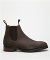 Loake Chatsworth Dark Brown Waxed Suede