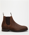 Loake Chatsworth Brown Waxed Suede