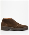 Sanders Luther Chocolate Suede