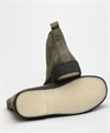 Playboy Original Chelsea Boot Olive Green Suede