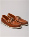 Sebago Docksides Horween Bright Orange