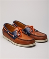 Sebago Horween Spinnaker Orange Ink