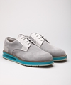 Air Derby Grey Suede