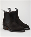 R.M. Williams The Yearling Black Suede