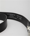 "Filson 1 1/4"" Leather Belt Black"