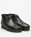Clarks Originals Wallabee Boot Black Leather