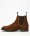 Loake Chatdsworth Dainite Brown Suede