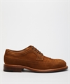 Fiddler City Brogue Derby Light Brown Suede
