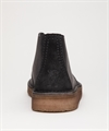 Clarks Originals Desert Trek Hi Black Leather