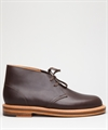 Clarks Originals Desert Welt Dark Brown Leather
